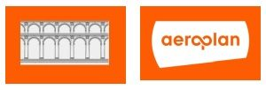 viaduct and aeroplan logos