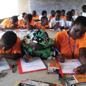Plan school in Burkina Faso