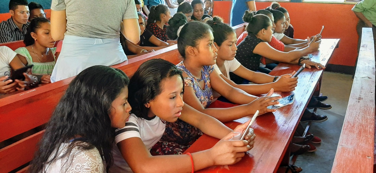 2019 – Technology and Training for Quality and Equality Project in Bosawas, Nicaragua